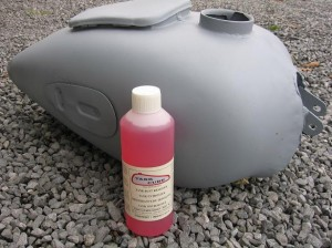 Tank Cure Rust Remover