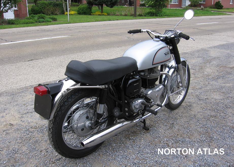 10-Norton Atlas rh rear