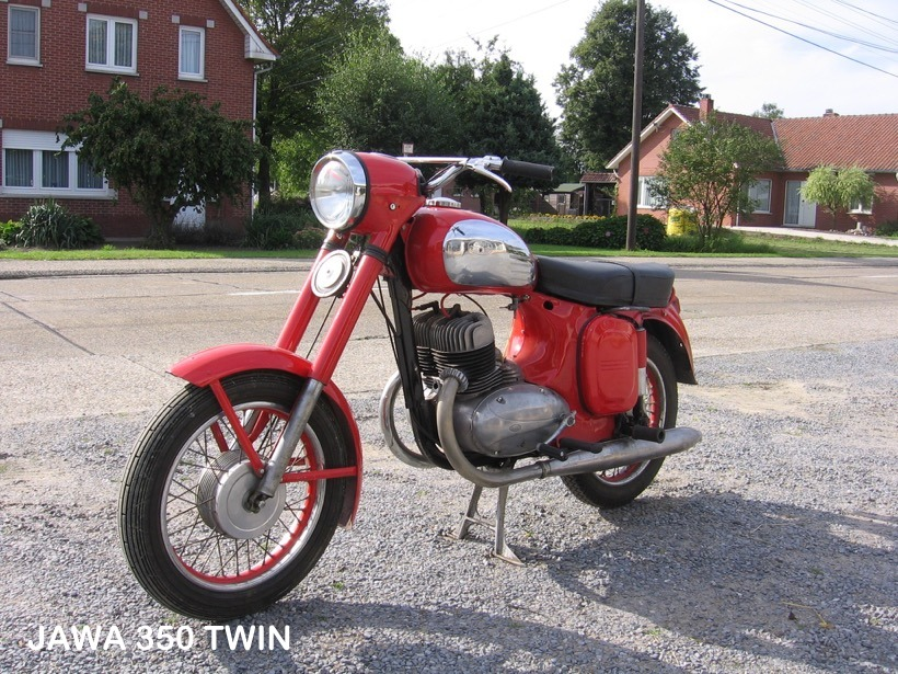 Jawa 350 Twin